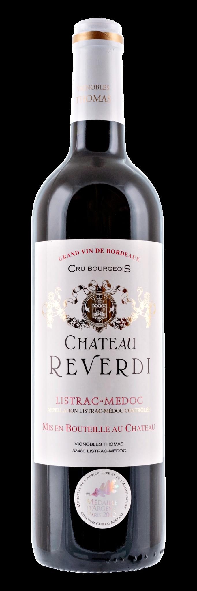 Bordeaux Diverse 2015 Château Reverdi, Cru Bourgeois Listrac-Médoc