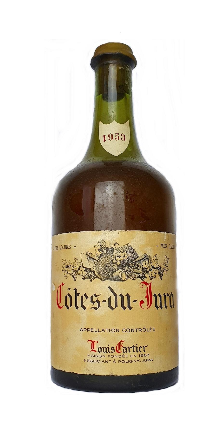 Frankreich Diverse 1953 Vin Jaune Côtes du Jura, Louis Cartier 0,65L