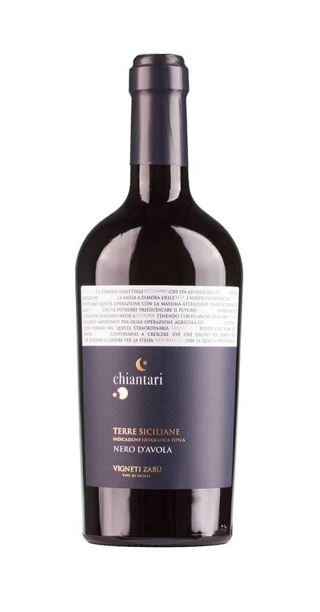 Farnese, Mittel- & Süditalien 2019 Chiantari Nero d'Avola Sicilia IGT Vigneti Zabu