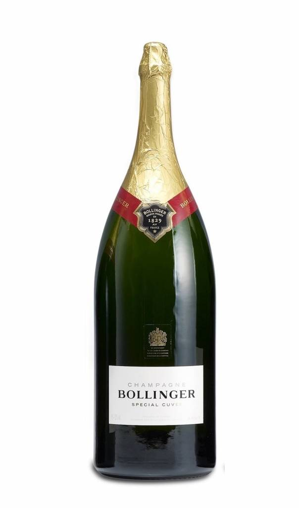 Bollinger, Champagne  Champagne Bollinger Special Cuvée brut 9,0L in wooden box