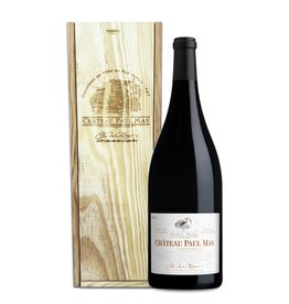 Mas, Paul - Languedoc 2018 Clos des Mûres, Paul Mas 1,5L in wooden box