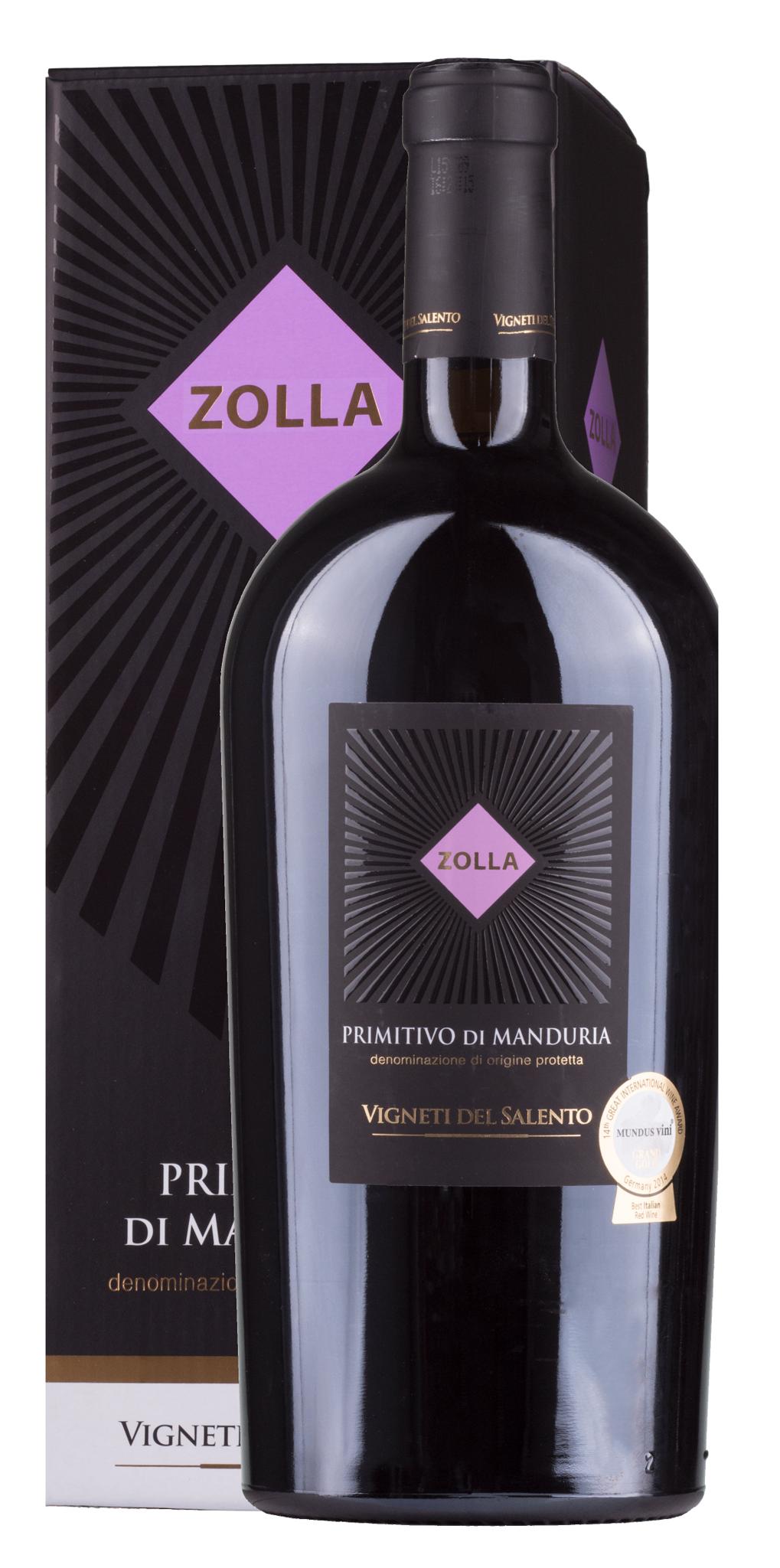 Farnese, Mittel- & Süditalien 2016 Primitivo di Manduria Zolla 1,5L in Geschenkbox