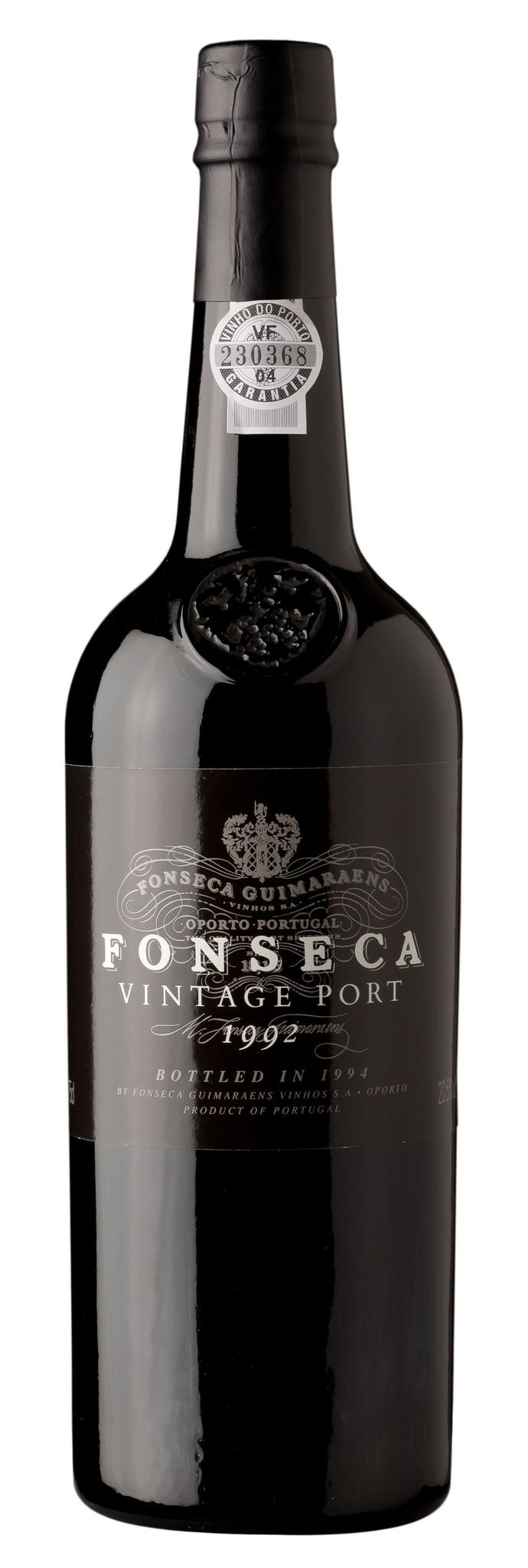 Fonseca, Porto 1992 Fonseca Vintage Port in Holzkiste