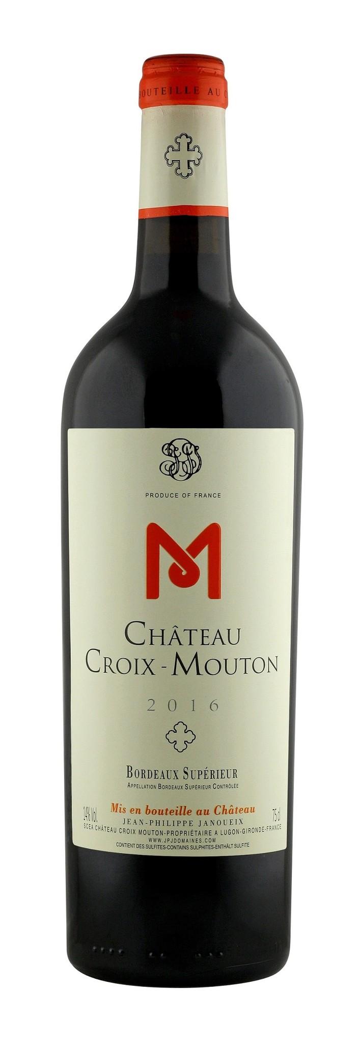 Bordeaux Diverse 2016 Chateau Croix-Mouton, Bordeaux Superieur
