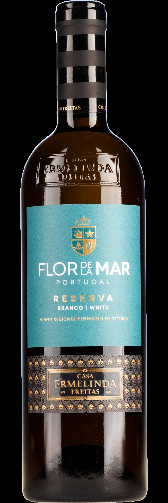 Ermelinda Freitas - Portugal 2019 Flor de Mar Reserva Branco, Ermelida Freitas