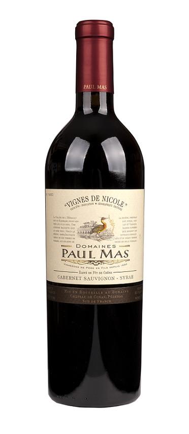 Mas, Paul - Languedoc 2019 Cabernet/Syrah Reserve Vignes de Nicole, Languedoc IGP, Paul Mas