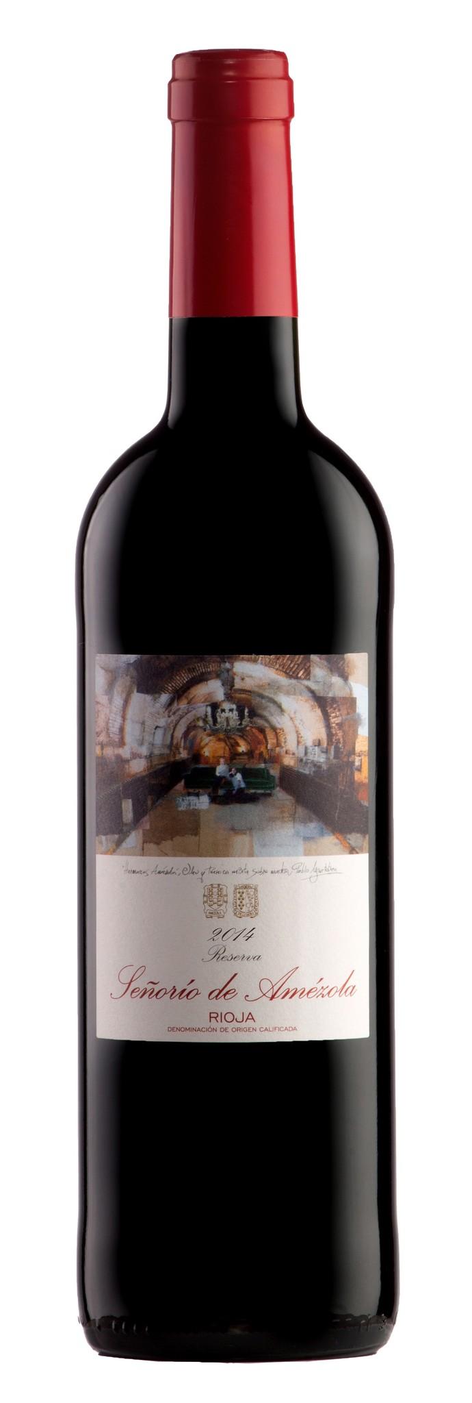 Amézola de la Mora - Rioja 2014 Rioja Reserva DOCa Señorio Amézola, Amézola de la Mora