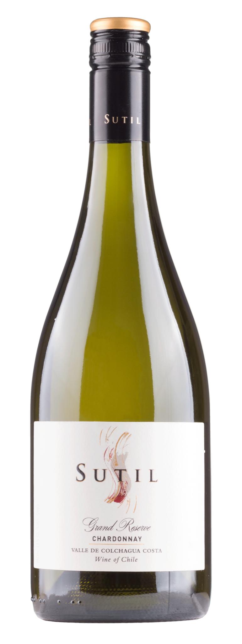Vina Sutil, Chile 2020 Chardonnay Grand Reserve Colchagua Valley, Vina Sutil