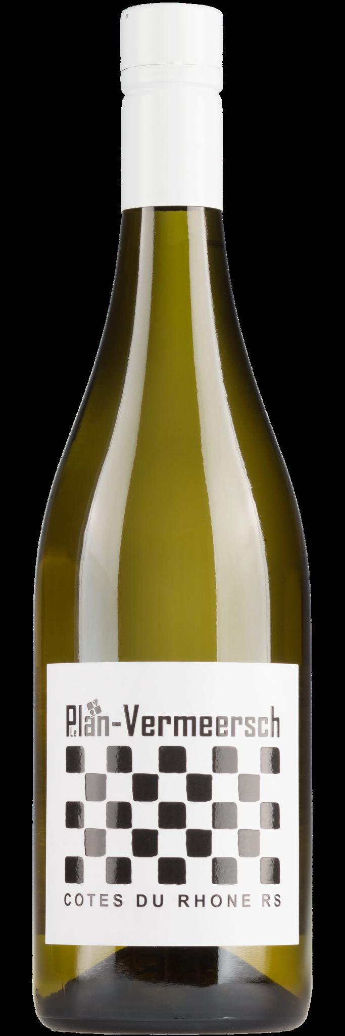 LePlan Vermeesch, Rhône 2020 Côtes-du-Rhône blanc RS, Plan-Vermeersch