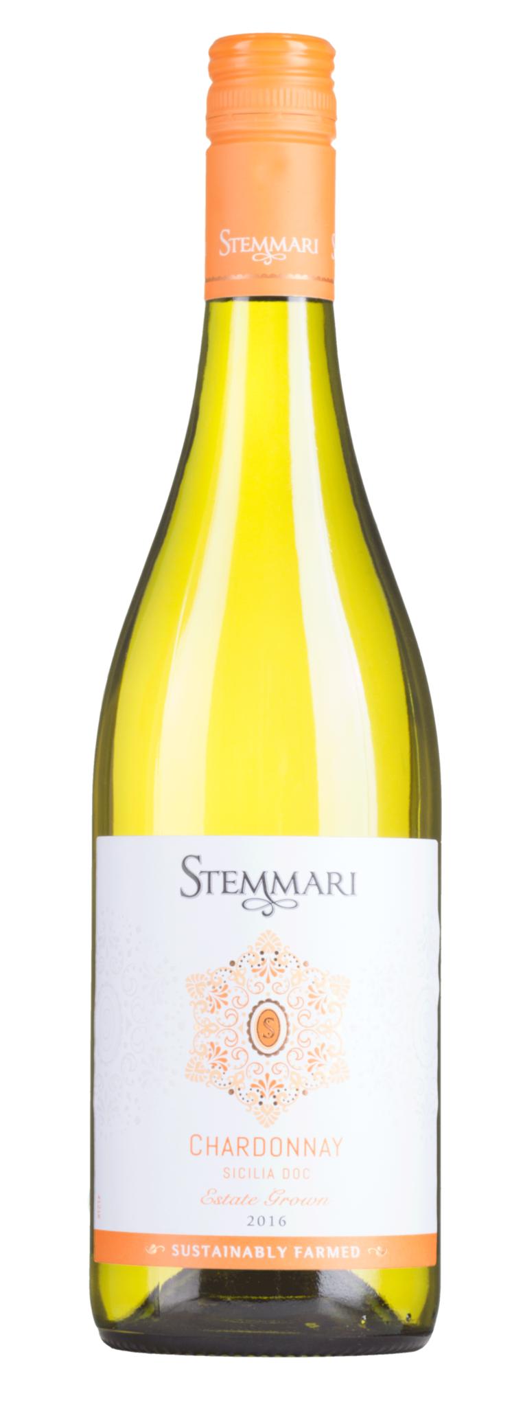 Stemmari /Feudo Arancio), Sizilien 2019 Chardonnay Sicilia DOC Stemmari