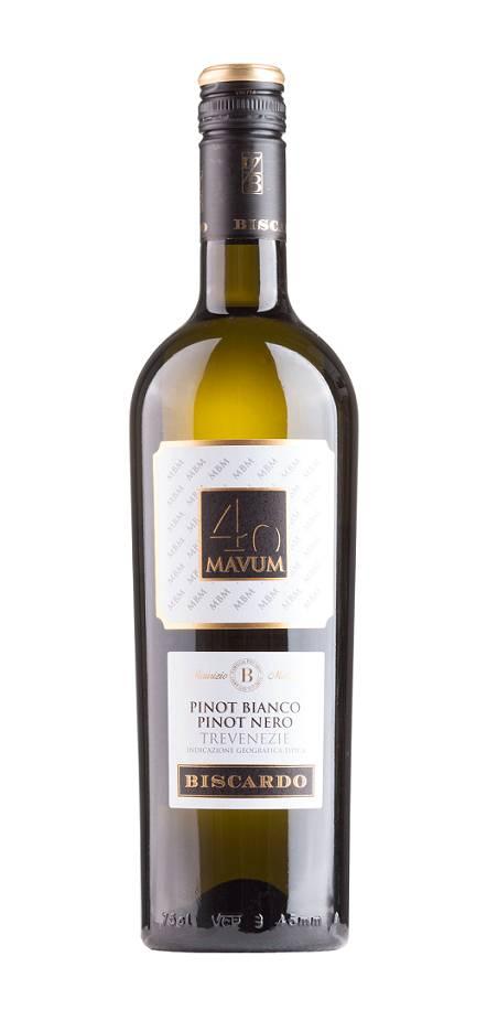Mabis s.r.l., Italien 2020 MAVUM 40 Pinot Bianco and Pinot Nero Veneto IGP, Biscardo