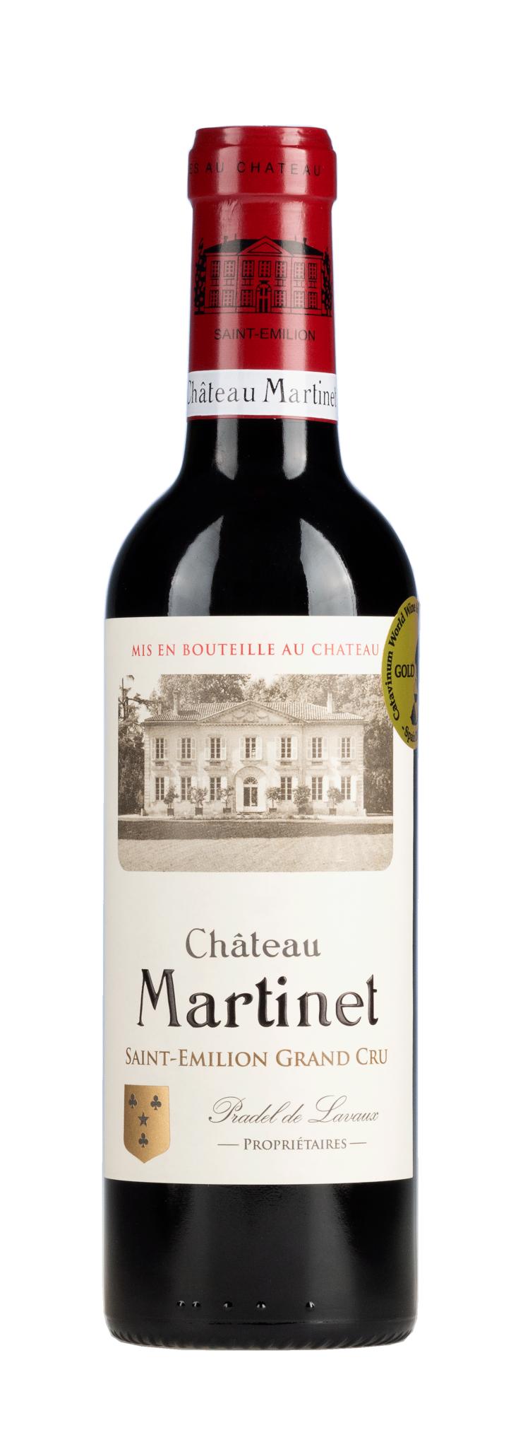Bordeaux Diverse 2018 Chateau Martinet Saint-Emilion Grand Cru 0,375L