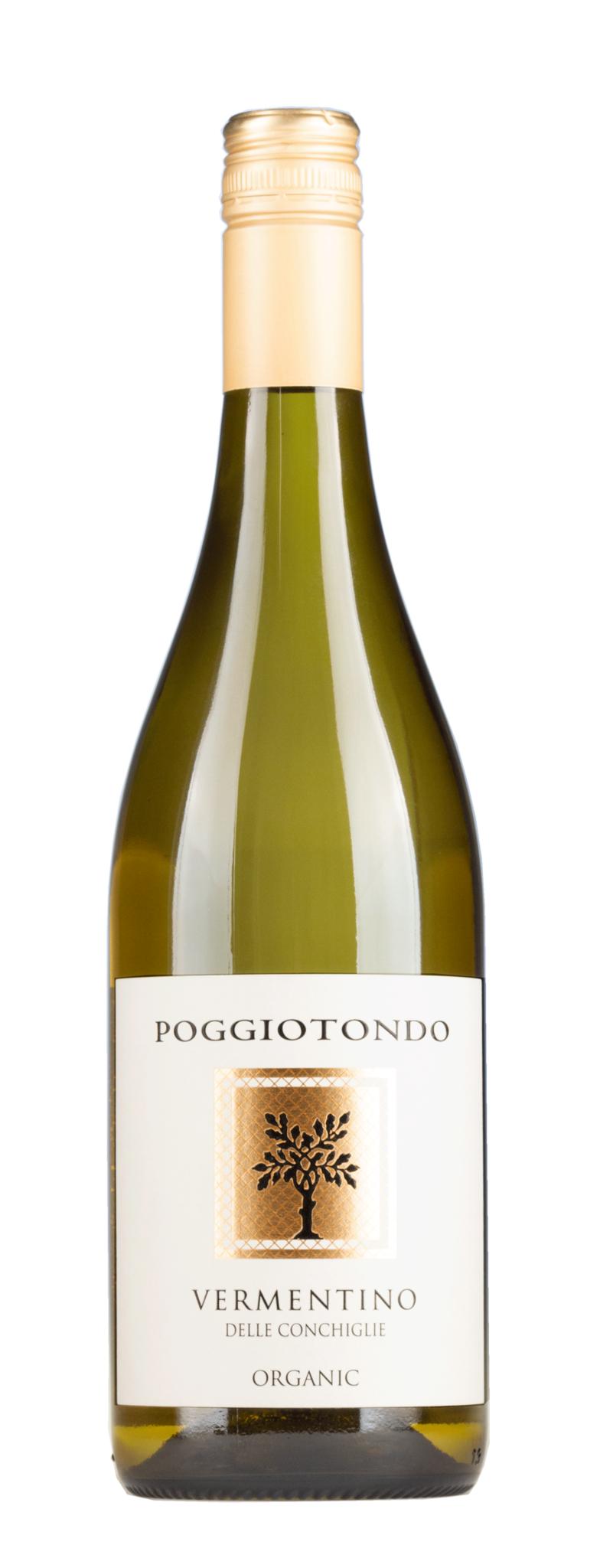 Poggiotondo, Toskana 2020 Vermentino,  Toscana Bianco IGT, Poggiotondo