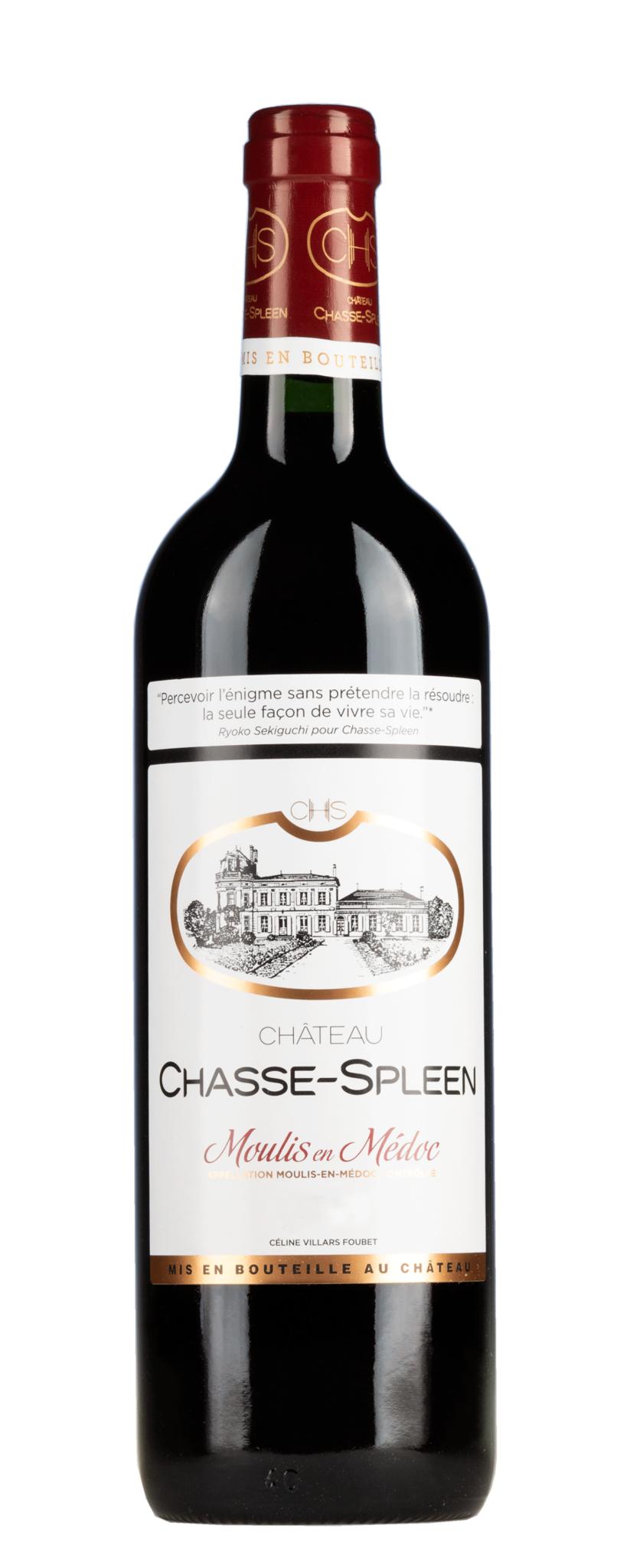 Bordeaux Diverse 2016 Chateau Chasse-Spleen Cru Bourgeois exceptionnel Moulis en Medoc