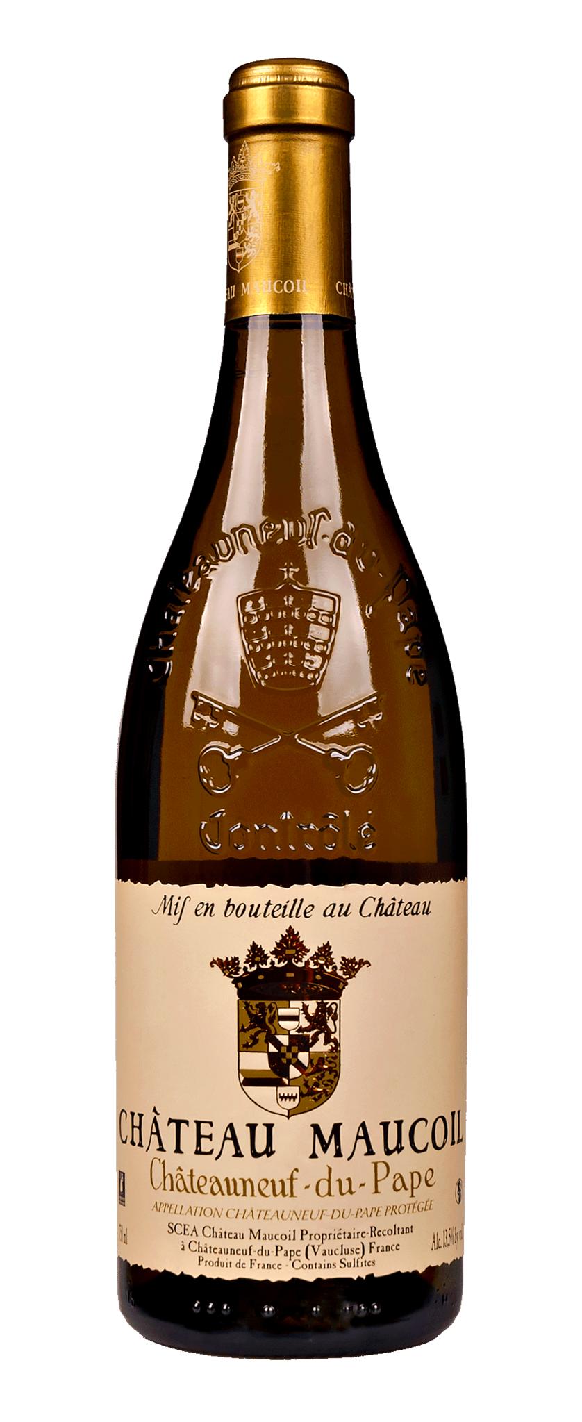 Maucoil, Château - Rhône 2018 Chateauneuf-du-Pape blanc, Chateau Maucoil