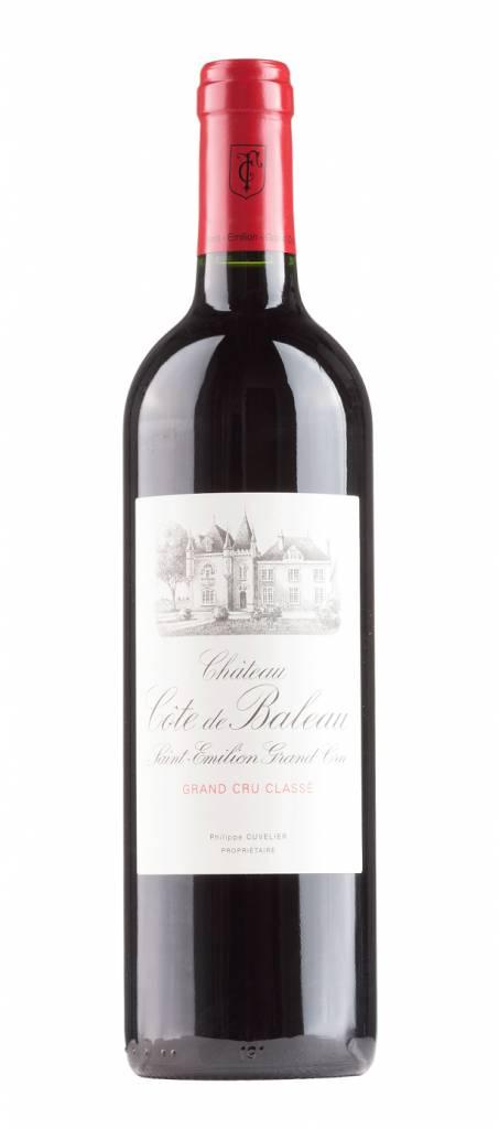 Bordeaux Diverse 2018 Château Côte de Baleau, Saint Emilion Grand Cru Classé