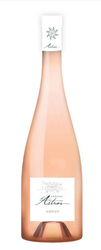 Astros, Provence 2020 Rosé Amour Côtes de Provence AOP, Château d'Astros