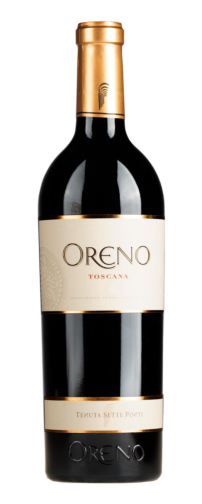 Sette Ponti, Tenuta - Toskana 2018 Oreno Rosso Toscana, Tenuta Sette Ponti