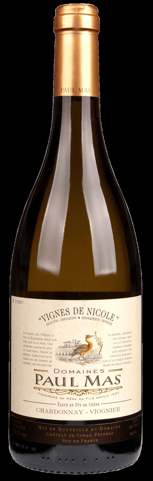 Mas, Paul - Languedoc 2020 Vignes de Nicole Chardonnay/Viognier Réserve Languedoc IGP, Paul Mas