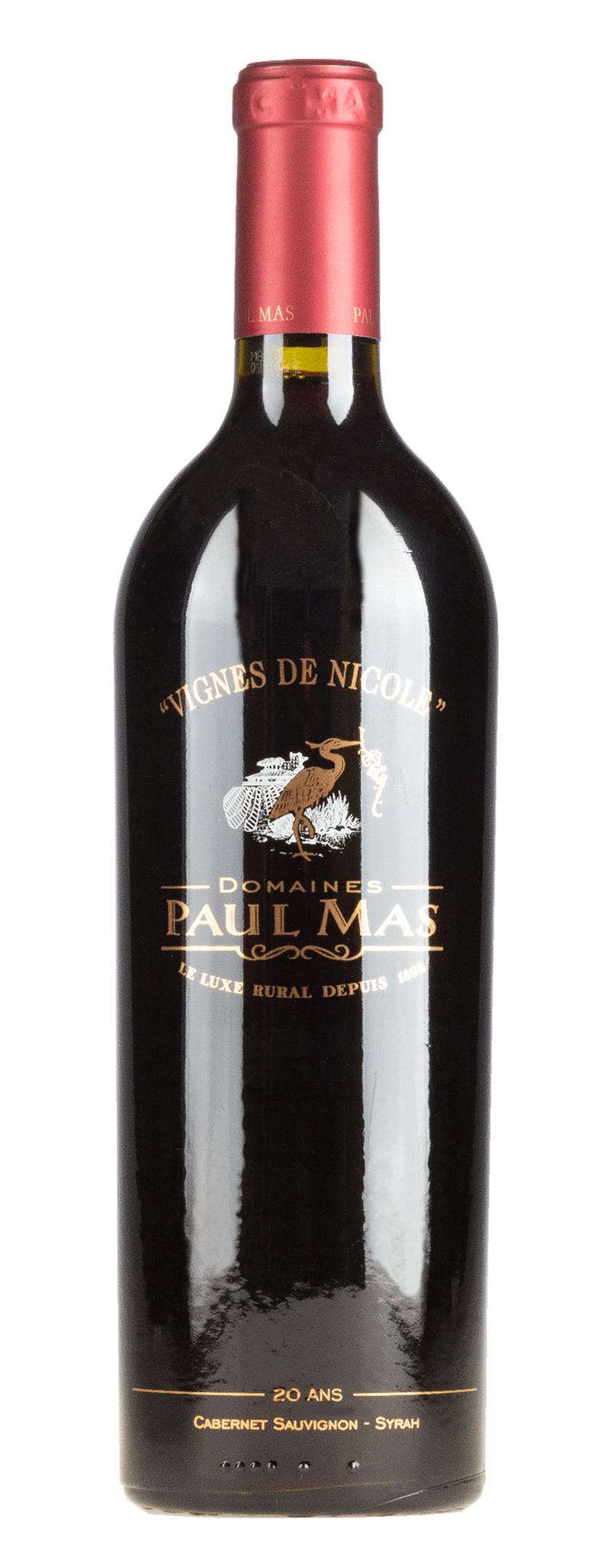 Mas, Paul - Languedoc 2020 Cabernet/Syrah Reserve 20 Jahre Vig. de Nicole, Paul Mas