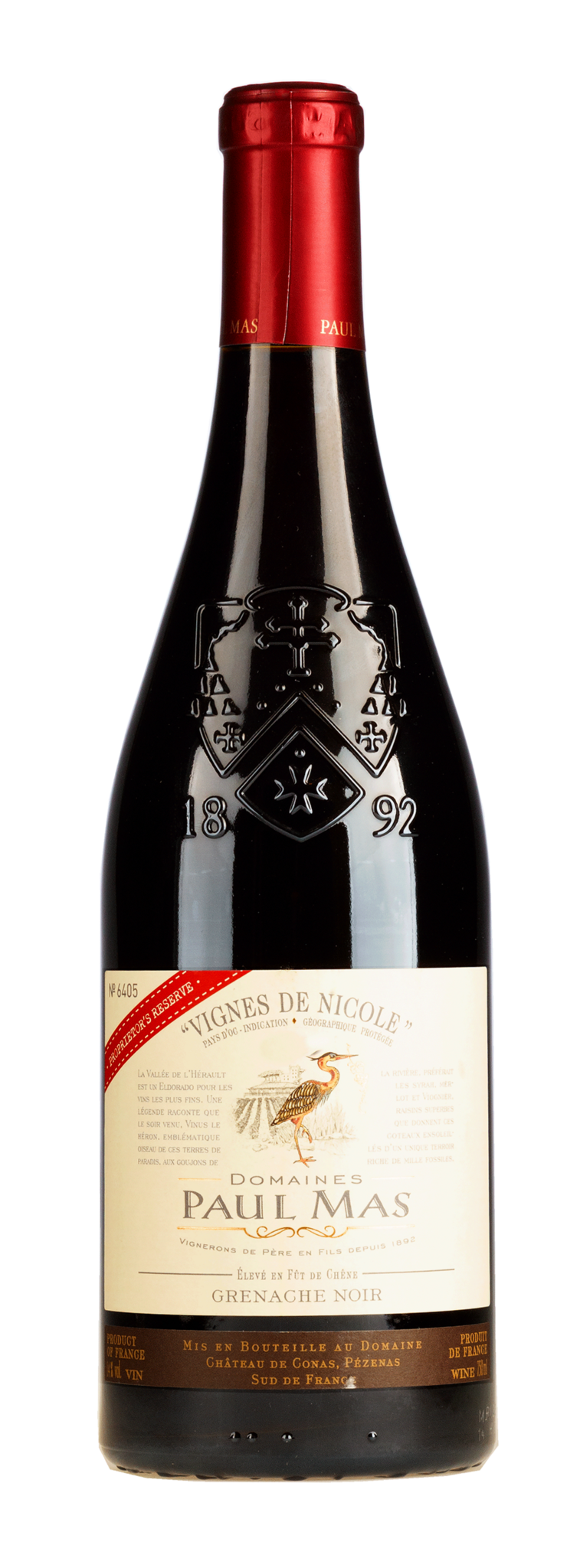 Mas, Paul - Languedoc 2020 Grenache Noir Vignes Nicole Proprietor's Reserve, Paul Mas