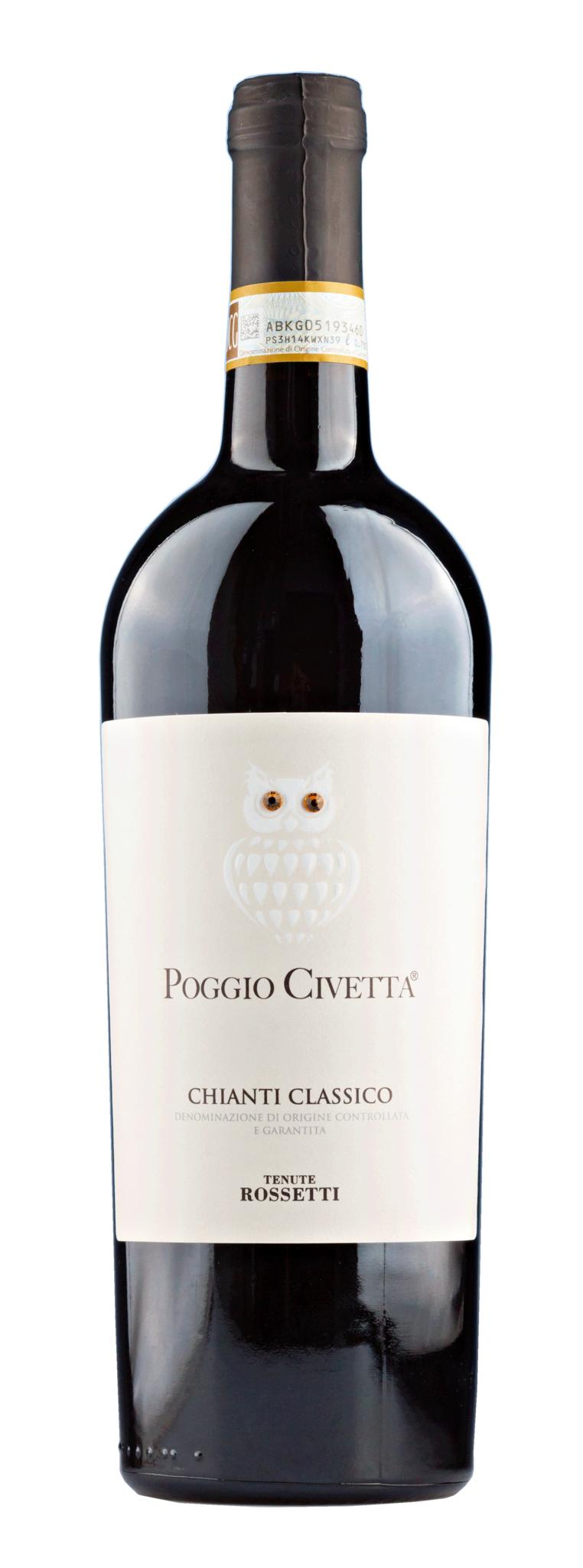 Farnese, Mittel- & Süditalien 2019 Chianti Classico Poggio Civetta, Tenute Rossetti