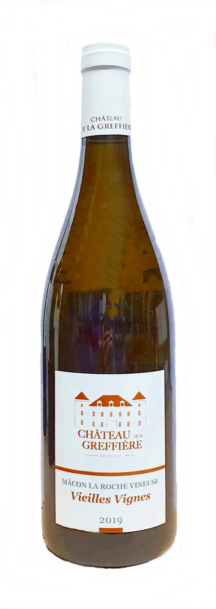 Greffière, Château de la  - Burgund 2019 Mâcon la Roche-Vineuse AOP Vieilles Vignes, Chateau de la Greffière