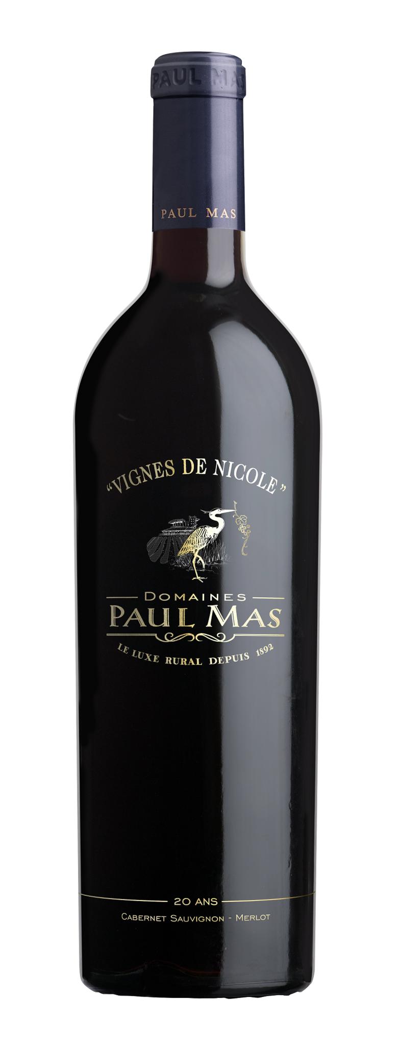 Mas, Paul - Languedoc 2019 Cabernet/Merlot Reserve, 20 Jahre Paul Mas Vignes de Nicole, Paul Mas
