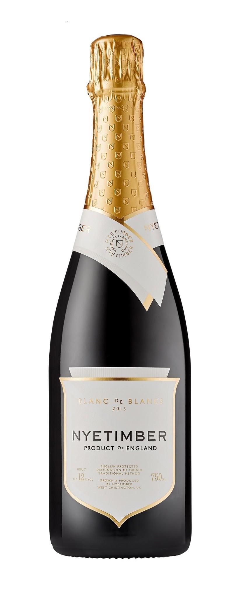 Nyetimber - West Sussex 2013 Blanc de Blancs sparkling wine England, Nyetimber