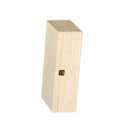 2er wooden box Hinge cover