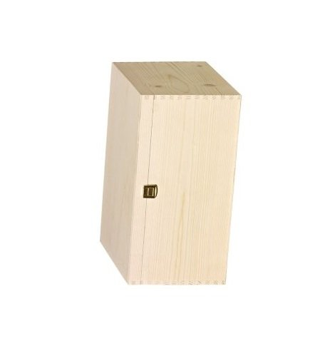 6 bt. wooden box Hinge cover