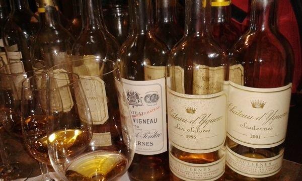 Träume süß - Château d'Yquem & Co.