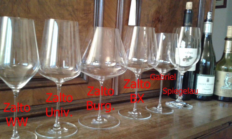 Weingläser im Test