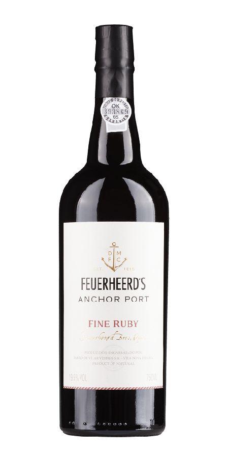 Feuerheerd's Port Feuerheerd's Anchor Port Fine Ruby
