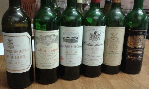 Kleine 96er Bordeaux-Probe