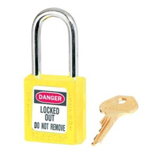 Masterlock Zenex veiligheidshangslot rood 410RED - 410KARED