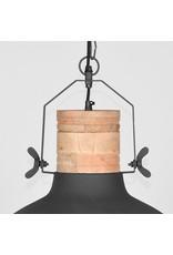 Hanglamp Grid - Grijs - Metaal