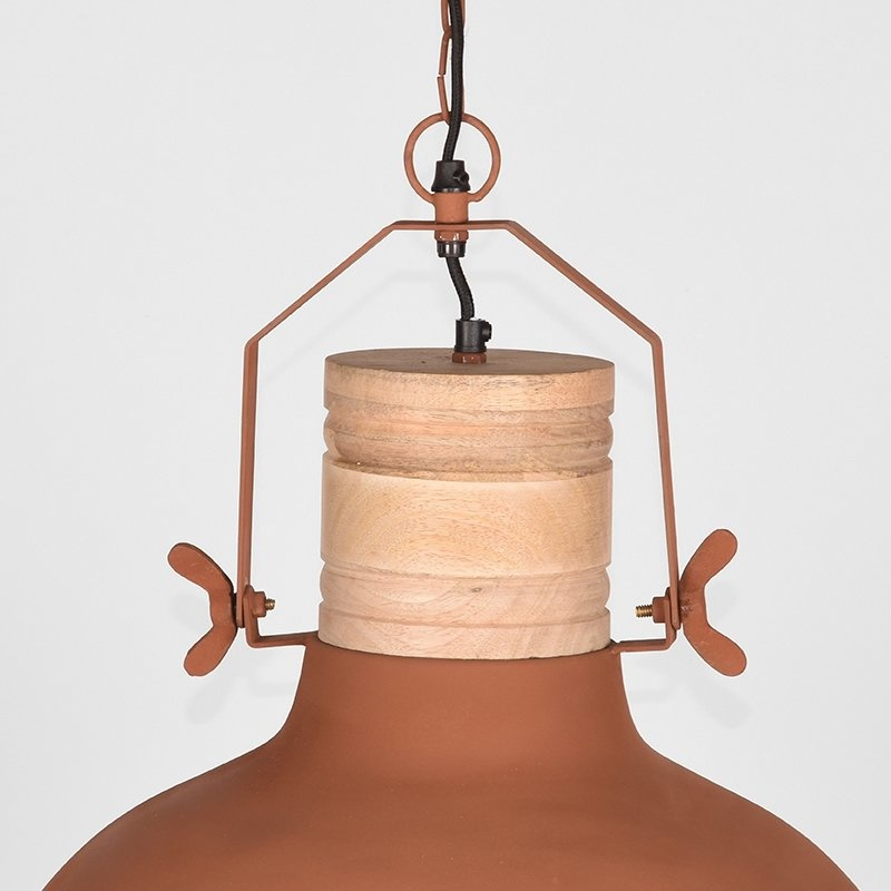 Hanglamp Grid - Koper - Metaal