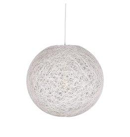 Hanglamp Twist - Wit - Vlas - L