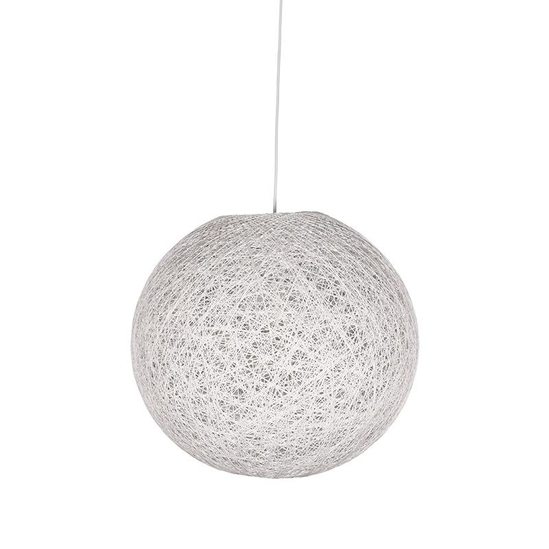 Hanglamp Twist - Wit - Vlas - M
