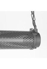 Hanglamp Tube - Zwart - Metaal
