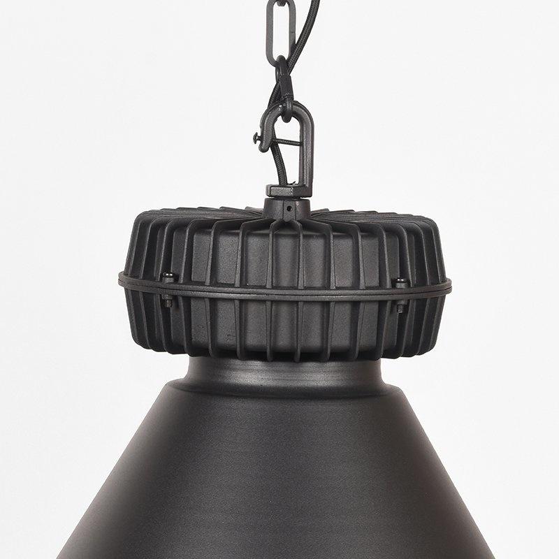 Hanglamp Duisburg - Zwart - Metaal