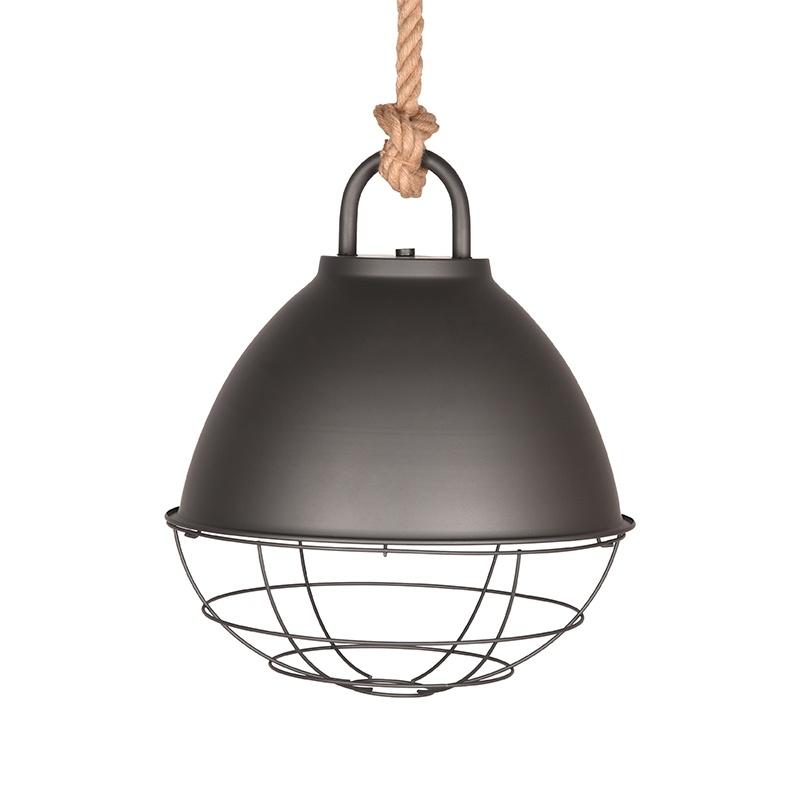 Hanglamp Korf - Burned Steel - Metaal - L