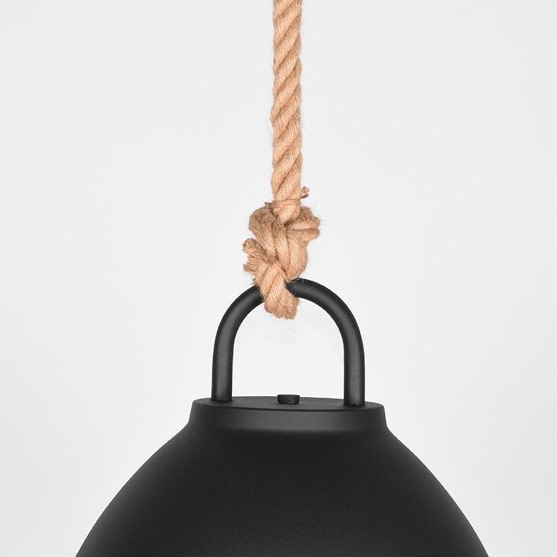 Hanglamp Korf - Zwart - Metaal - L