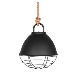 Hanglamp Korf - Zwart - Metaal - M