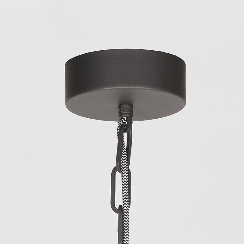 Hanglamp Heavy Duty - Burned Steel - Metaal
