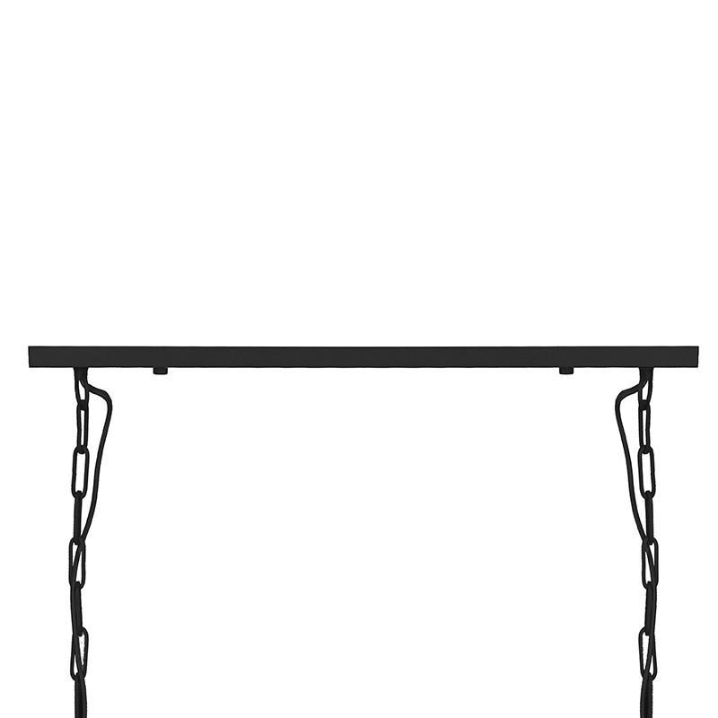 Hanglamp Roof - Zwart - Metaal