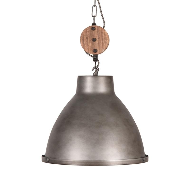 Hanglamp Dock - Grijs - Metaal