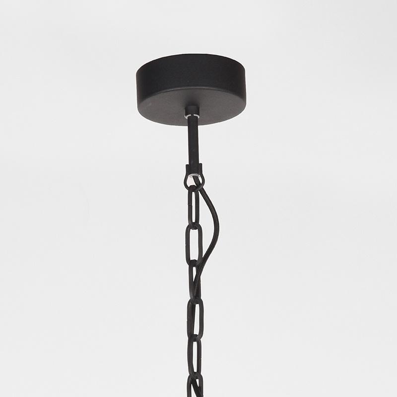 Hanglamp Dock - Zwart - Metaal