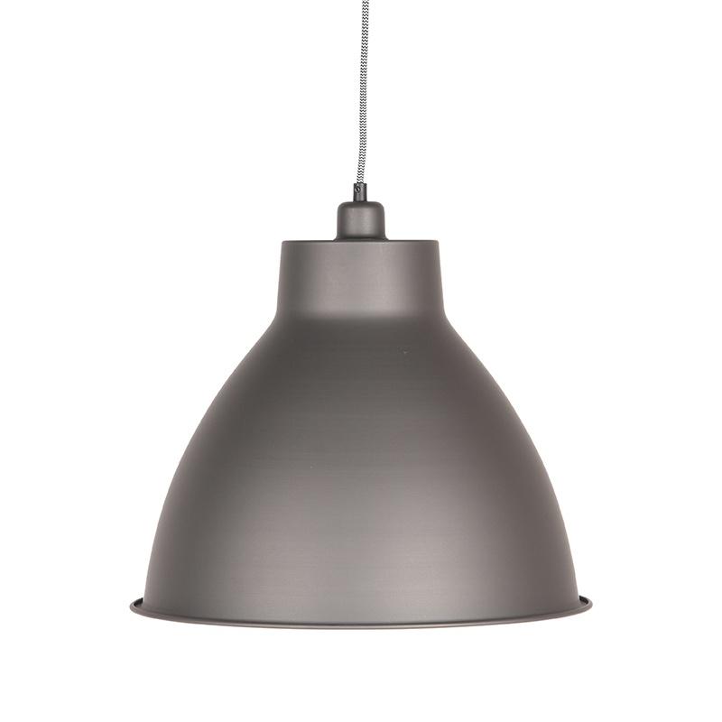 Hanglamp Dome - Metallic Grey - Metaal